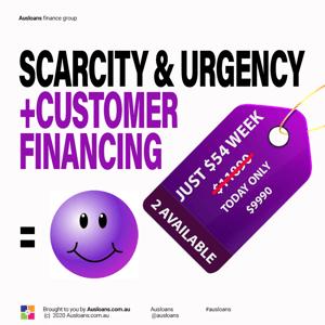 8.scarcity and customer finance