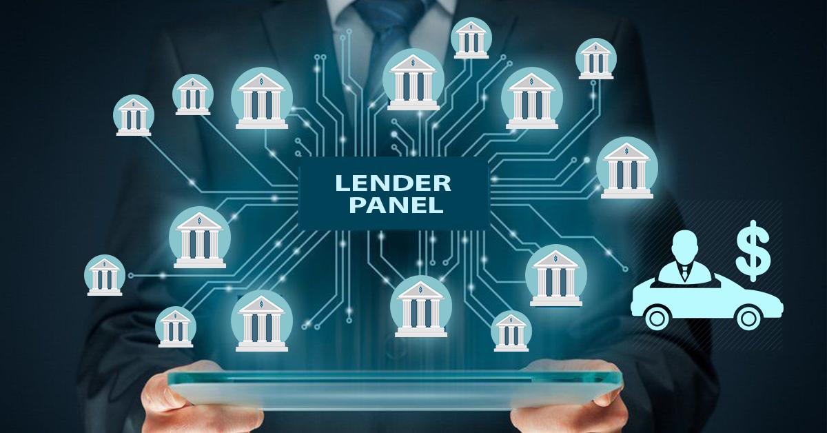 car loan aggregator lender panel