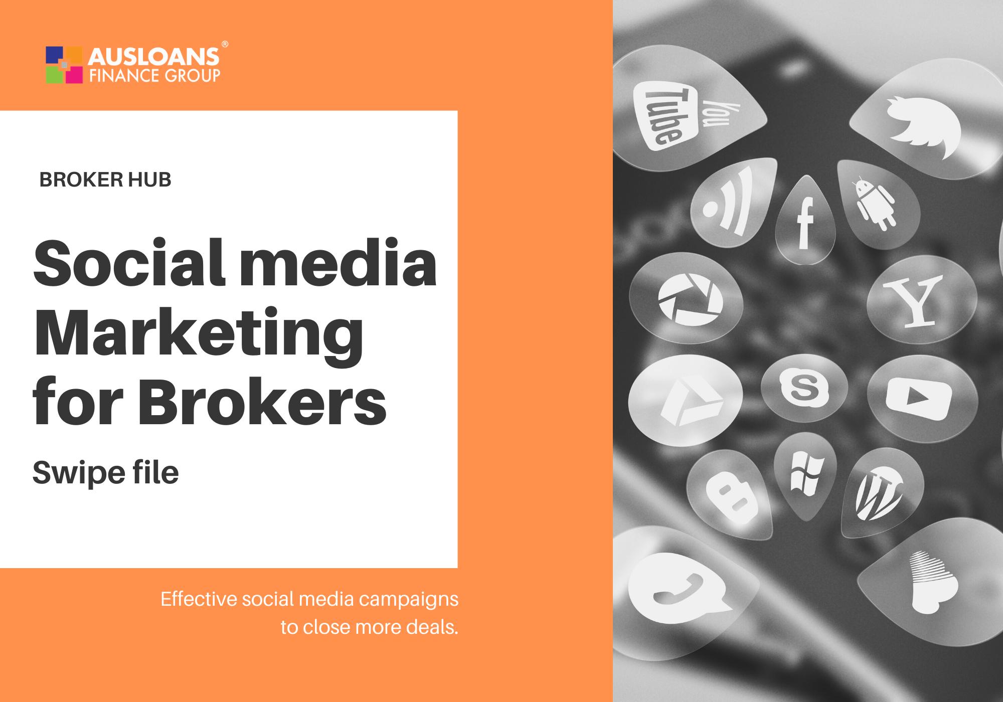 Ausloans marketing support brokers social media