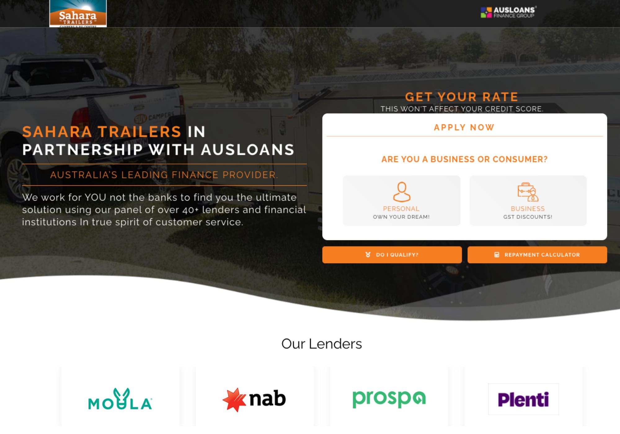 Ausloans marketing support partners  11