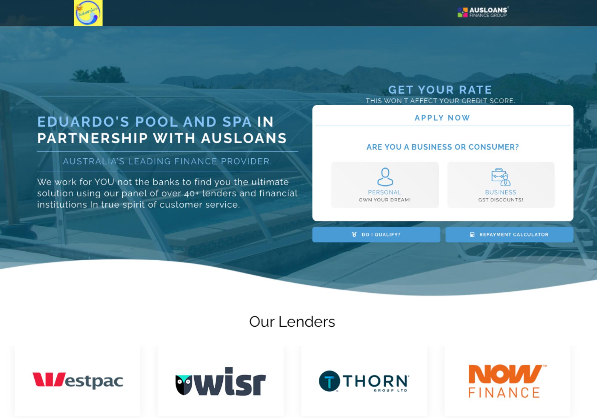 Ausloans marketing support partners  9
