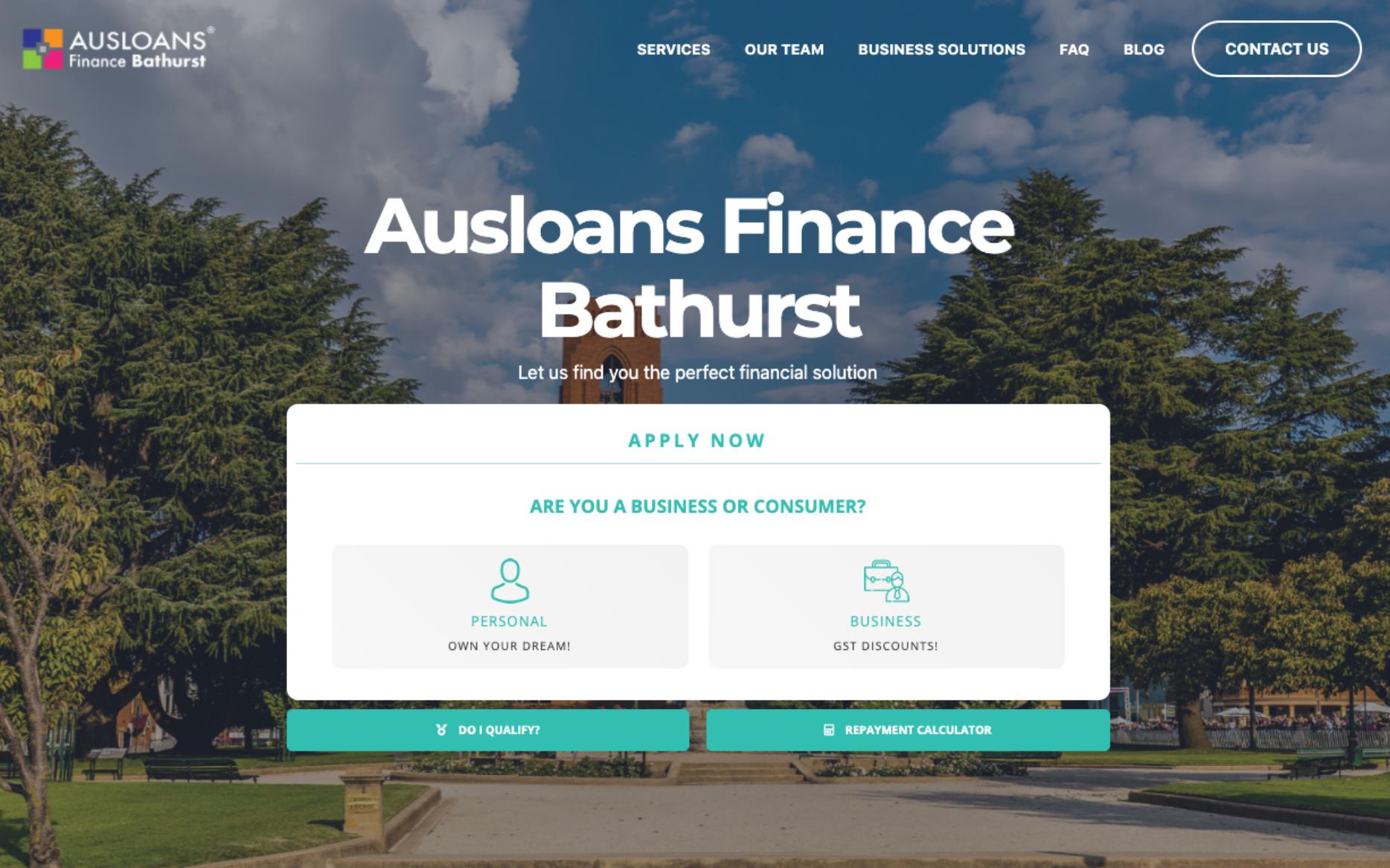 ausloans finance fracnchise bathurst